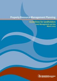 Property Resource Management Planning - Guide to Rural ...