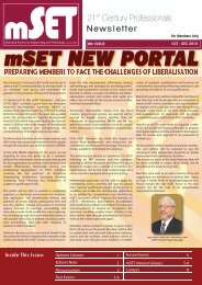 Issue 8 : October - December 2010 - malaysian society for ...