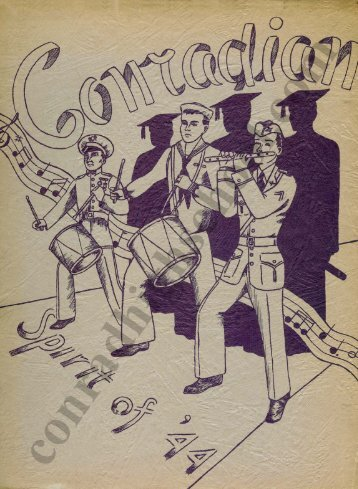 1944 Conradian Yearbook - Henry C. Conrad High School