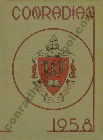1958 Conradian Yearbook - Henry C. Conrad High School