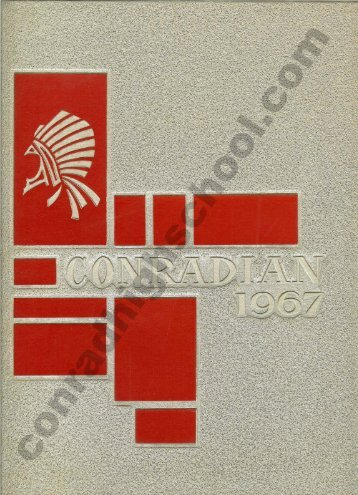 1967 Conradian Yearbook - Henry C. Conrad High School