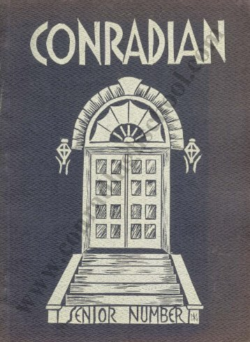 1938 Conradian Yearbook - Henry C. Conrad High School
