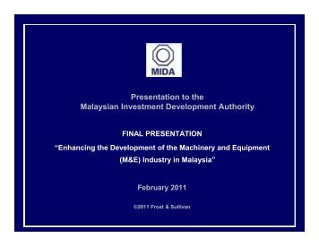 Frost Sullivan Study - malaysian society for engineering and ...