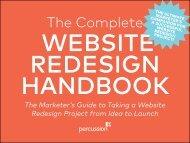 The Complete Website Redesign Handbook