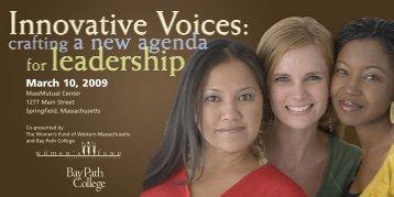 March 10, 2009 - Women's Fund of Western Massachusetts