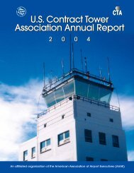 2004 USCTA Annual Report - Contract Tower Association