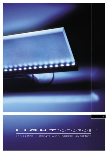 ledlampscre at eacolourfulambience - LIGHTWAVE LED LAMPS