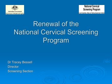 Download PDF - Preventing Cervical Cancer: Integrating Screening ...