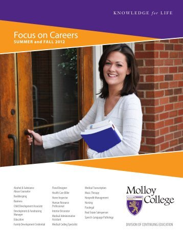 Focus on Careers - Molloy College