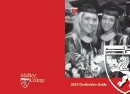 2013 Graduation Guide - Molloy College