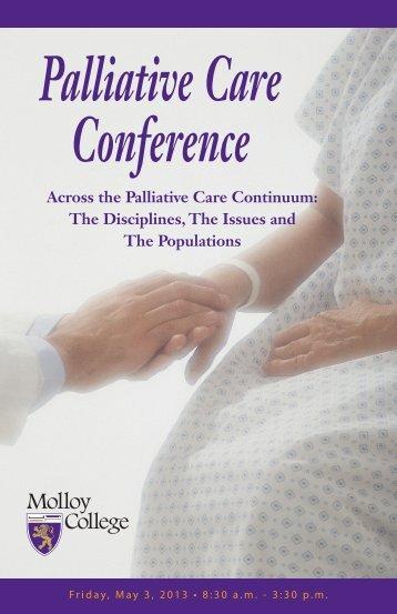 Palliative Care Conference - Molloy College