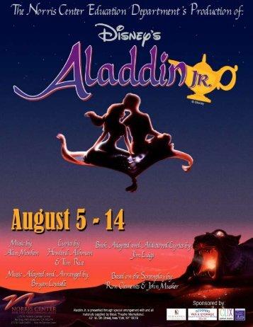Disney's Aladdin Jr. - Norris Center for the Performing Arts