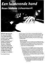 Dutch article 07-2007 - Rosen Journal