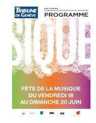 PROGRAMME - Tribune de Genève