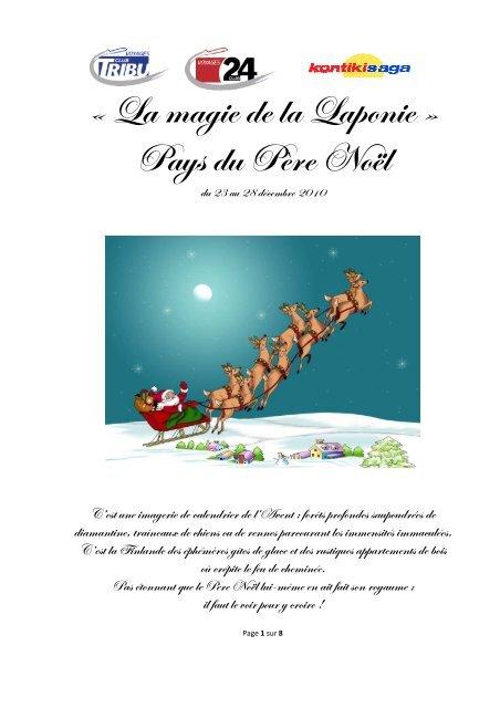TDG_Programme définitif pour la Laponie - Tribune de Genève