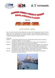 Programme Venise et Ravenne - Tribune de Genève
