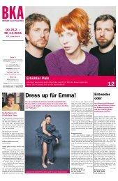 Berner Kulturagenda 2015 N°9