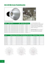 BLS-LED HQL Ersatz Pendelleuchte