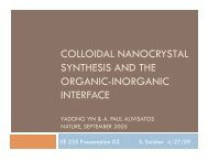 colloidal nanocrystal synthesis and the organic-inorganic interface