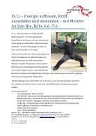 Baguazhang – Workshop mit Meister An Jian Qiu – Kö ln, 16.5.-17.5. - Seite 2