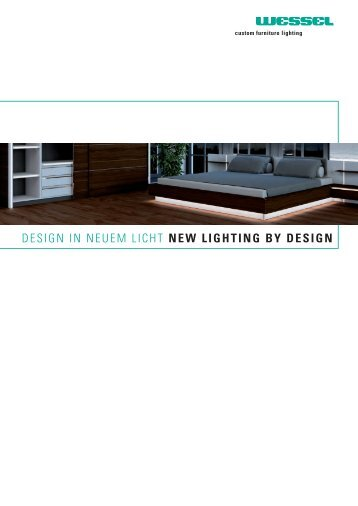 design in neuem licht new lighting by design - LED Lighting Systems ...