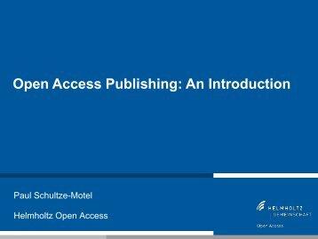 open access - German Cancer Research Center