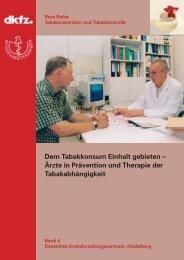 Ärzte in Prävention und Therapie der Tabakabhängigkeit