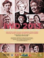 InternatIonal Women's Day - Women's Centre of Calgary