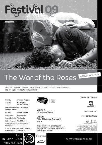 Event Program - 2009 - Perth International Arts Festival