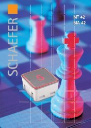 MT 42 / MA 42 - WS-Schaefer