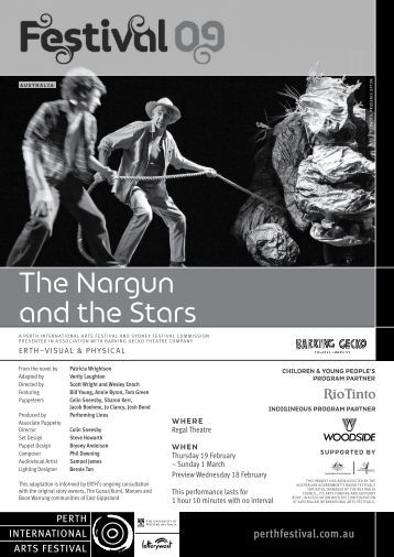 The Nargun and the Stars - 2009 - Perth International Arts Festival