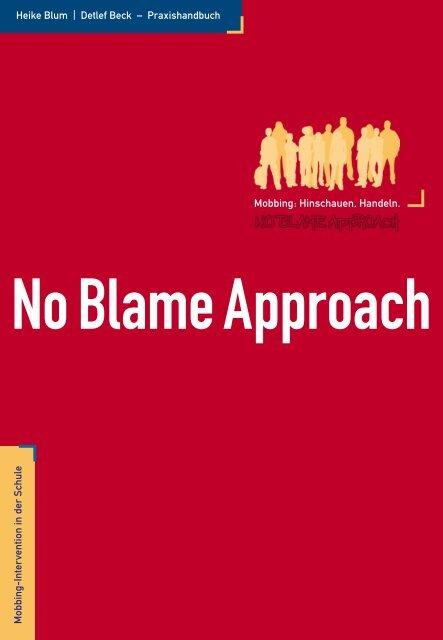 Mobbing - No Blame Approach