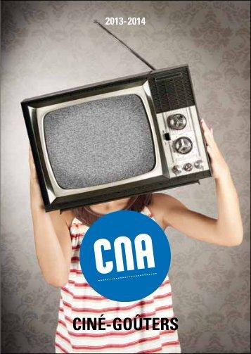 Programme des Ciné-goûters 2013-2014 (pdf - 681 Ko) - CNA