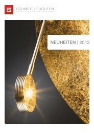 NEUHEITEN | 2012 - Schmidt Leuchten