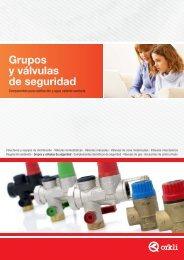 Grupos y válvulas de seguridad - Caloryfrio.com