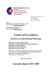 Department of Molecular Biology - Gliwice.pl