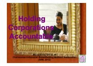 Holding Corporations Accountable - World Breastfeeding Conference