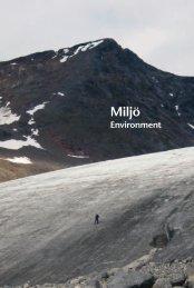 Miljö (pdf) - Statistiska centralbyrån