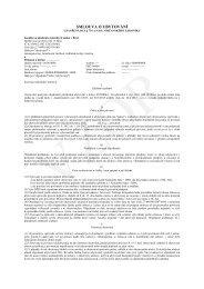 smlouva o ubytování - Janáčkova akademie múzických umění v Brně