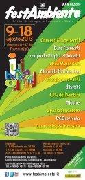 Programma completo 2013.indd - Tafter