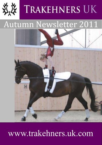2011 Autum Newsletter - Trakehners UK