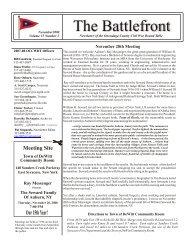 November, 2008 - Local History