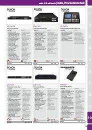 audio, PA & multimedia  Audio, PA & Medientechnik - LTH