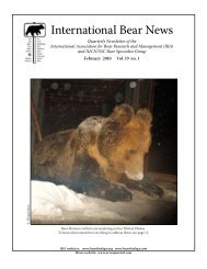 Trial use of electric fencing to prevent intrusions by Tibetan brown bear
