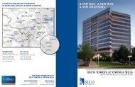 BECO TOWERS AT OWINGS MILLS A NEW DAY. A NEW WAY. A ...