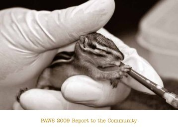 PAWS 2009 Report to the Community