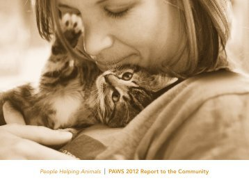 PAWS 2012 Annual Report