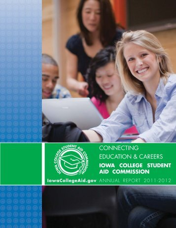 FY 2012 Annual Report - Iowa College Student Aid Commission