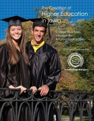 2012 Report - Iowa College Student Aid Commission