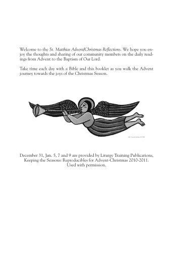 advent christmas reflect 10.pdf - St. Matthias Connect